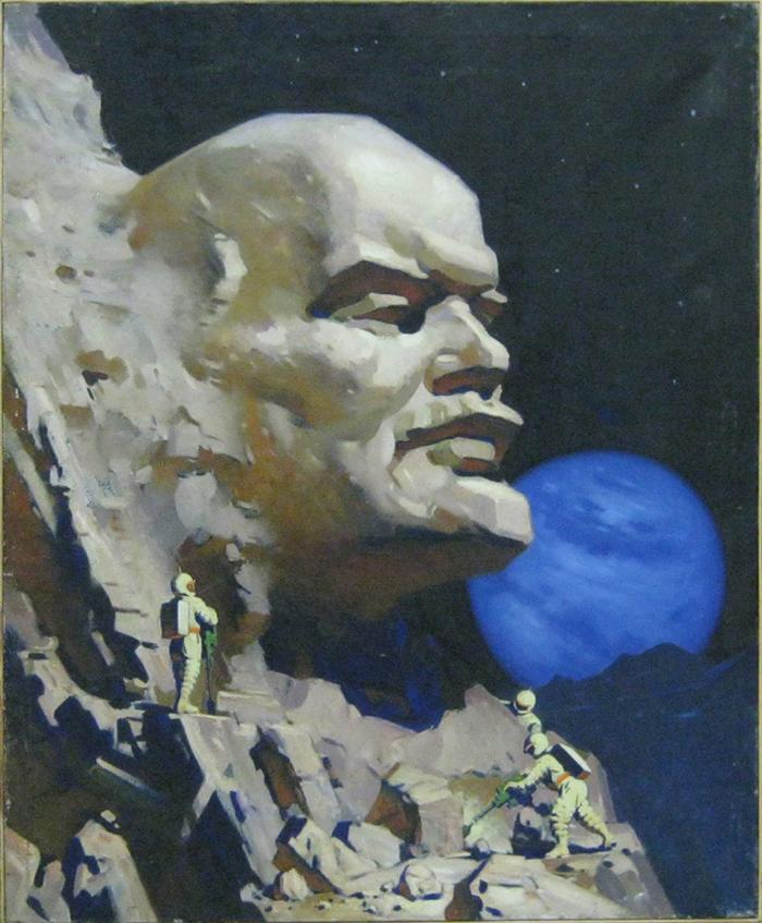 """Вячеслав Ховаев, """"Ленин на Луне"""", 1960 год"""