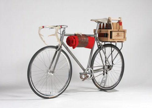 На пикник с  велосипедом Lumbürr