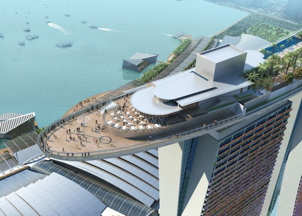 Гостиница «Marina Bay Sands resort»  самое дорогое здание в мире
