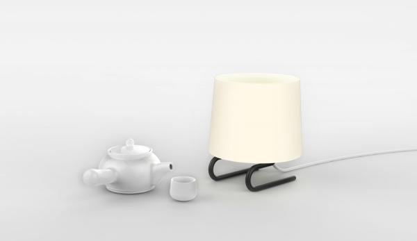 Настольная лампа с ногами
