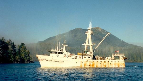 Новый концепт города корабля «Arctic Harvester»