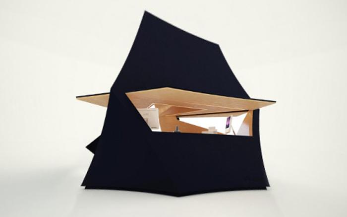 Модульный домик «Tetra Shed»