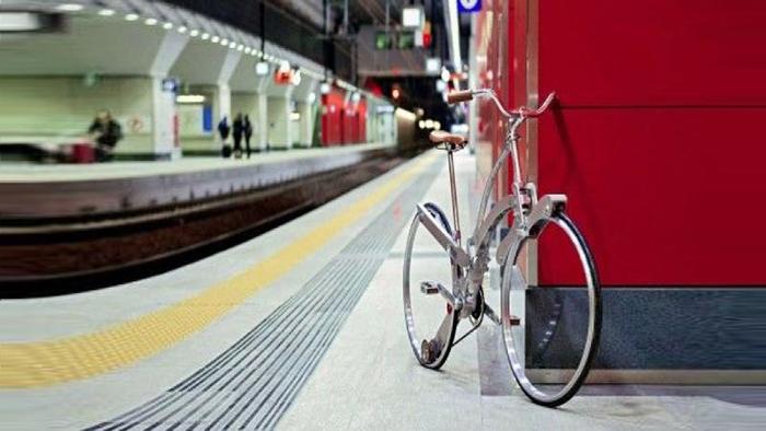 Hовый складной велосипед «Sada hubless»
