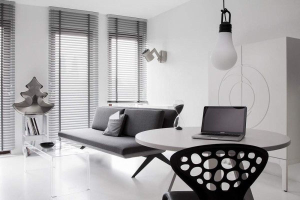 Черно белой арт хаус