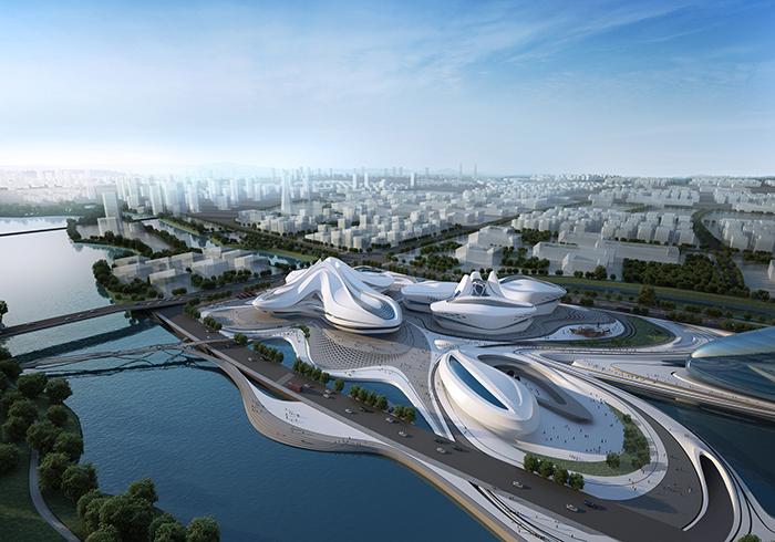 Новый международный центр культуры и искусств в Чанша
