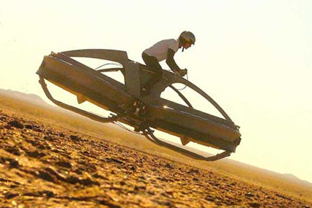 Полетай на новом Aero X hoverbike