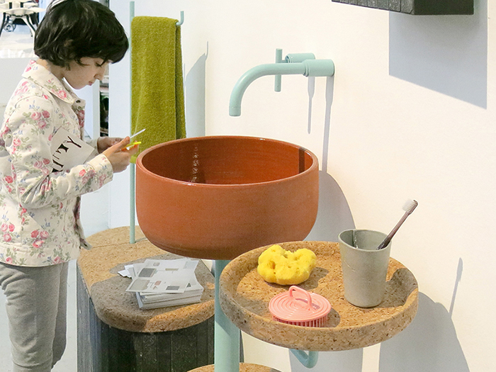 Мебель из керамической плитки «Tile Sashi»
