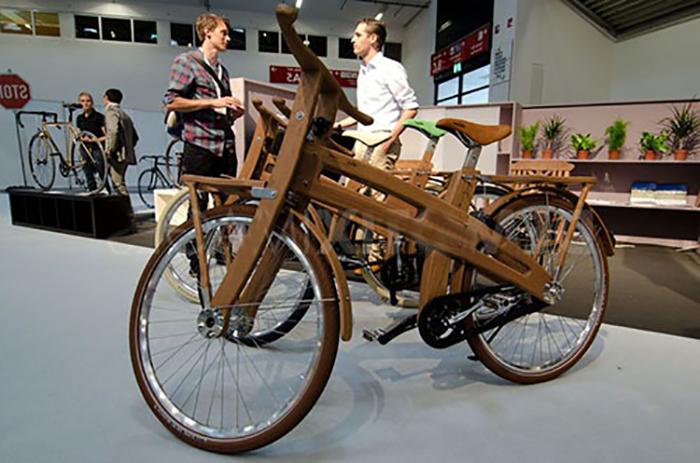 Первый в мире электрический велосипед «Bough Bike»
