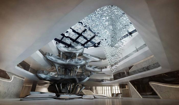 Новый отель под названием «The Opus Dubai»