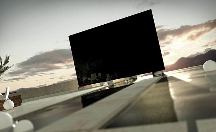 Телевизор с самым большим экраном