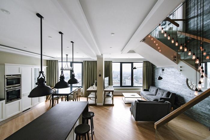 Двухэтажный пентхаус