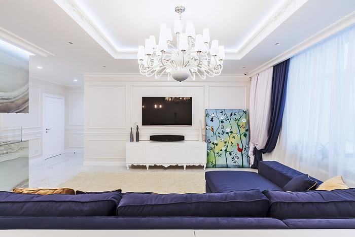 Искусство слушать: дизайн квартиры в стиле арт-деко