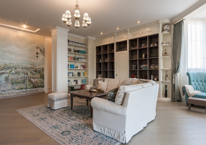 История о людях: квартира в стиле современная классика