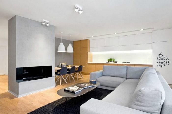 Да будет свет: современные системы освещения в польской квартире