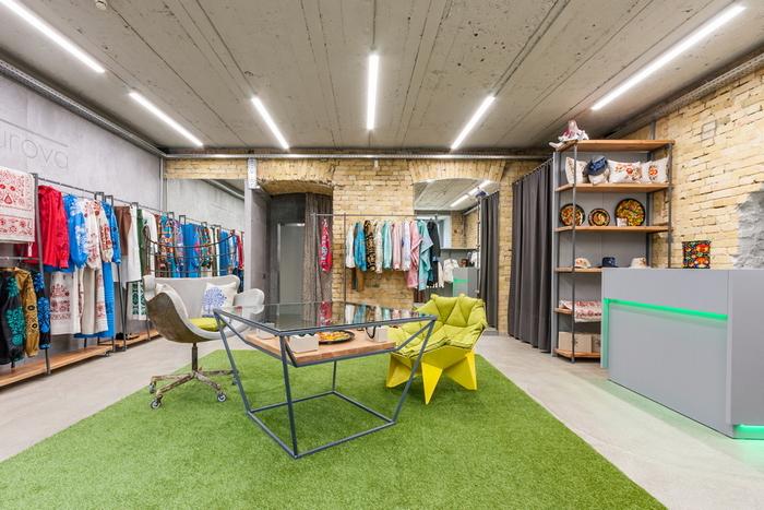 Историческое наследие: организация торгового пространства бутика украинской одежды