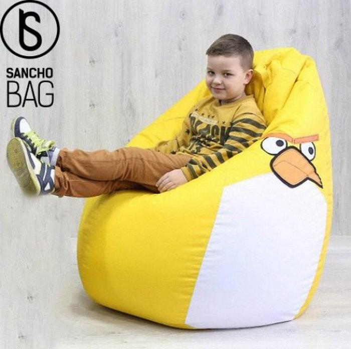 Кресло мешок и другие: бескаркасная мебель от «Sanchobag»