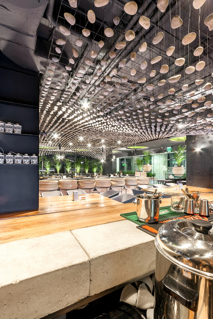 Время собирать камни: параметрический дизайн в интерьере ресторана
