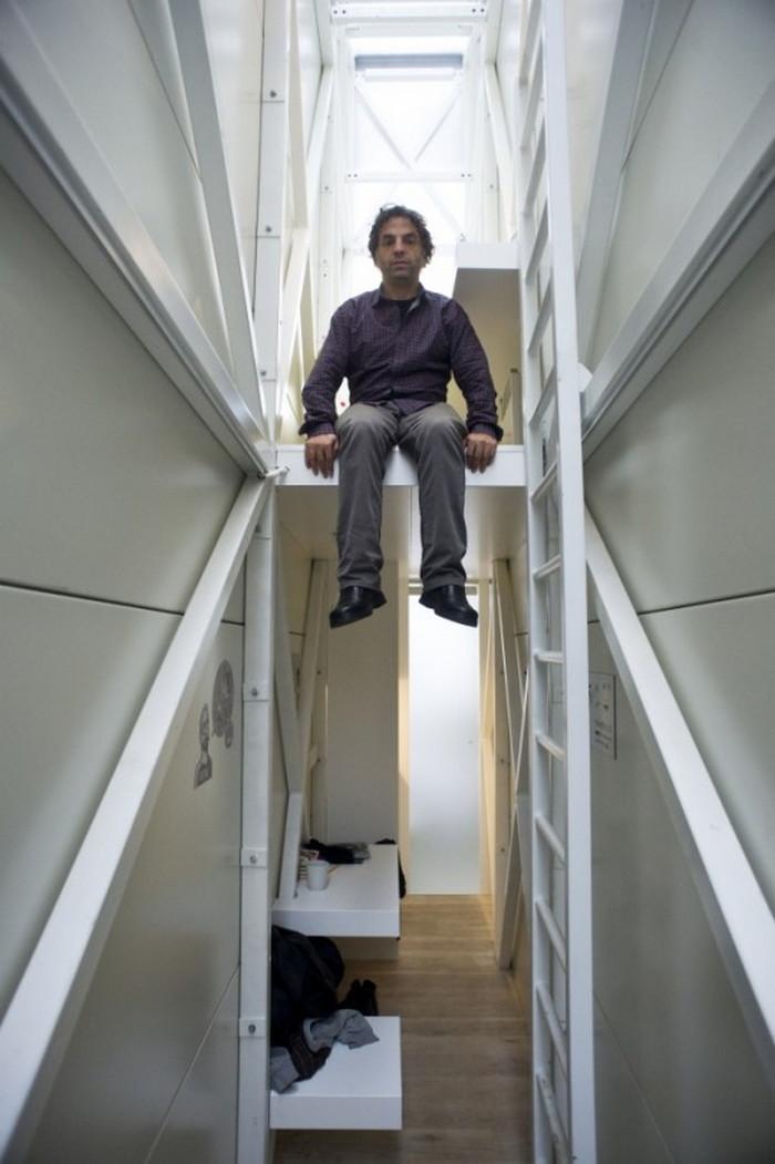 Самый узкий дом в мире: найти свою нишу
