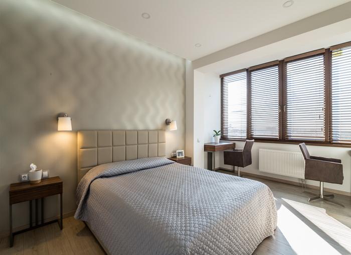 Нестандартное решение: интерьер двухкомнатной квартиры