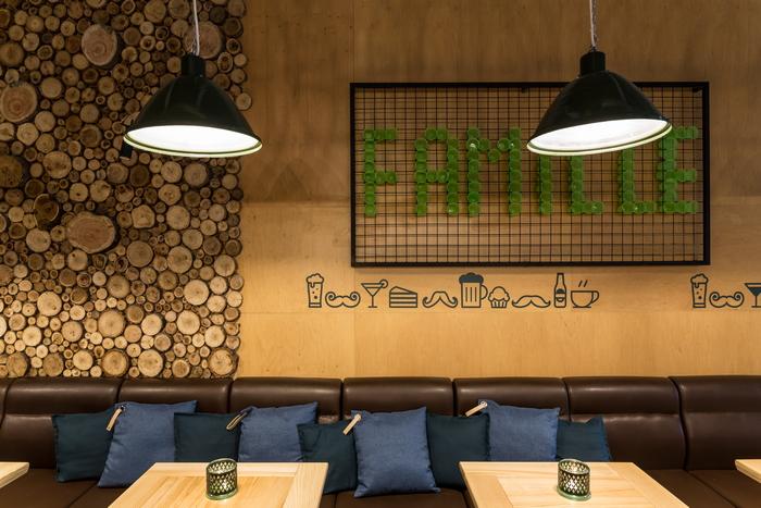 Семейный ресторан «De famille»: между рустиком и лофтом