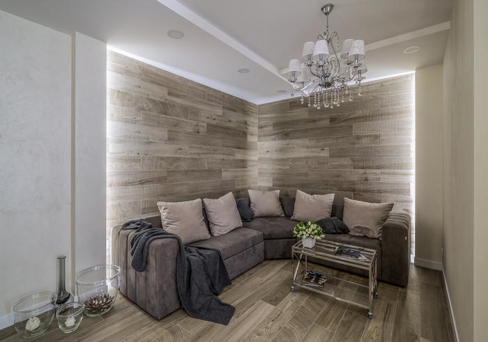 Квартира для молодой семьи: комфорт, эстетика, компактность