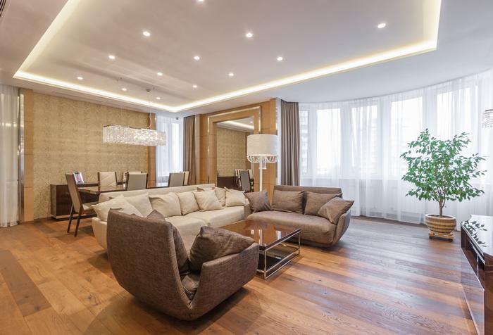 Нетрадиционная ориентация: квартира в стиле ар-деко