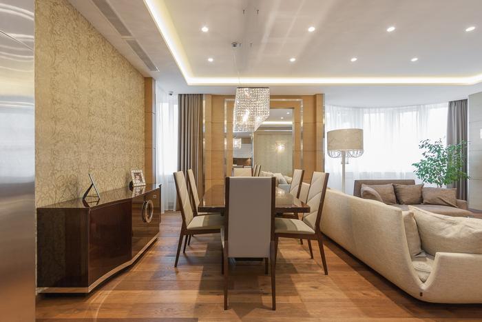 Нетрадиционная ориентация: квартира в стиле ар деко