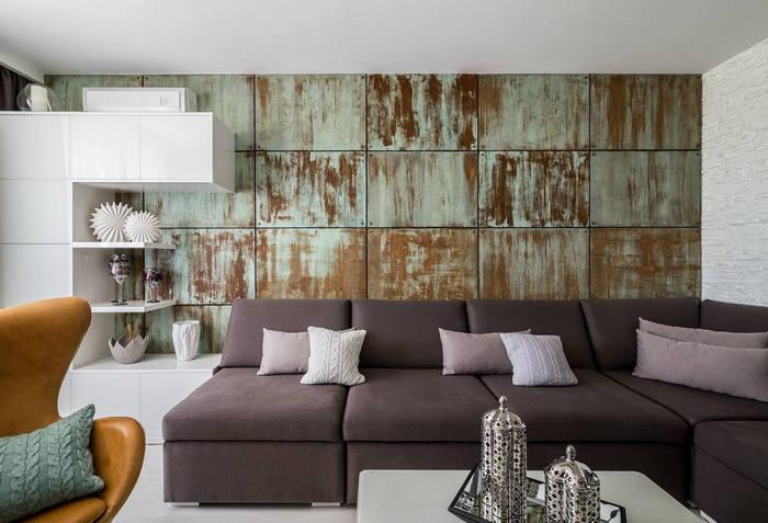 Современный интерьер трехкомнатной квартиры: по образу и подобию