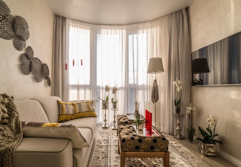 Интерьер квартиры от «EBV Design»: «Giulia» в «Киевской Венеции»
