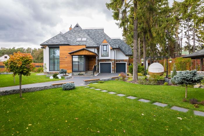 Дом на лоне природы: шесть уровней гармонии