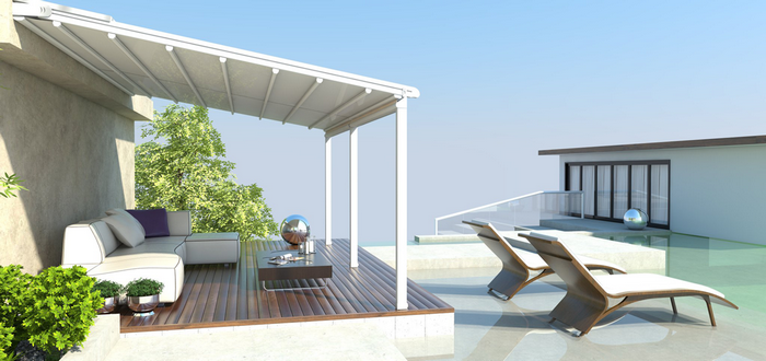Внешняя солнцезащита для дома и участка: трудности выбора