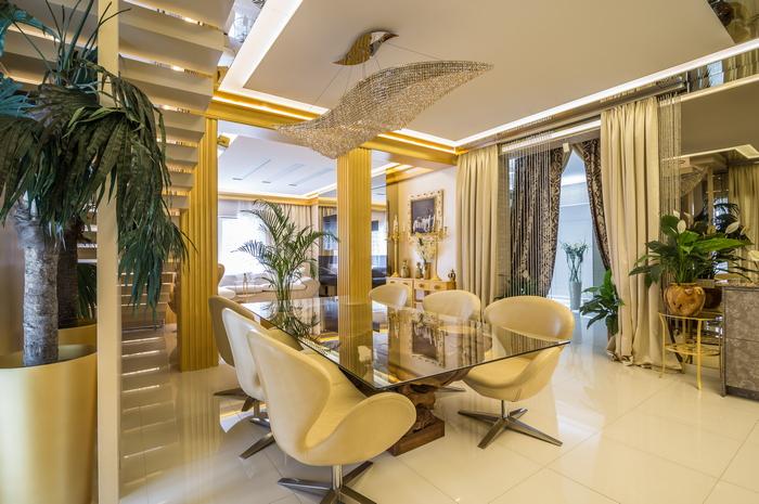 Дом в стиле ар-деко в Днепре: оазис красоты и комфорта