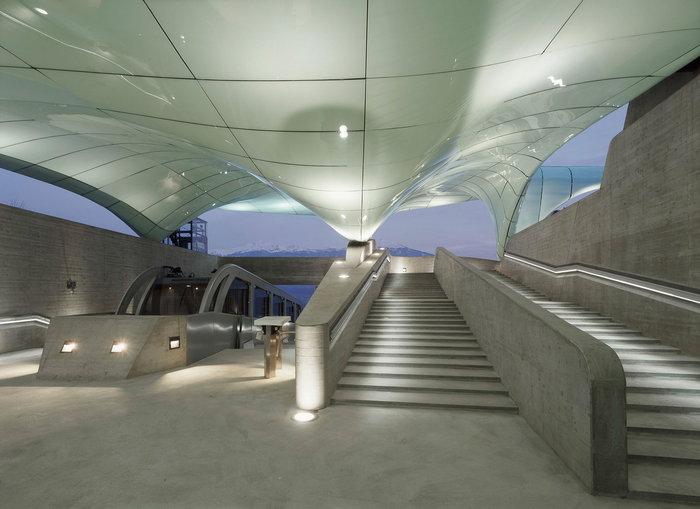 Метро для Днепра: впервые в Украине - Zaha Hadid Architects
