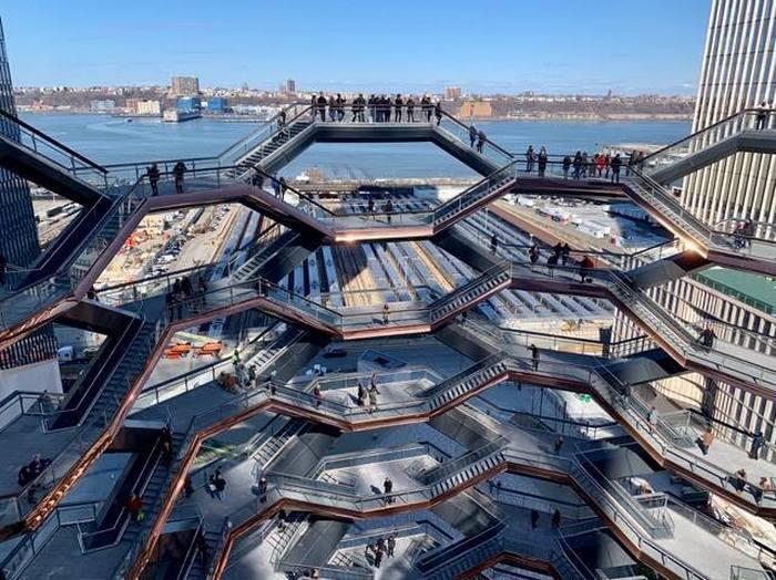 Инсталляция от Heatherwick Studio: новый символ Нью-Йорка