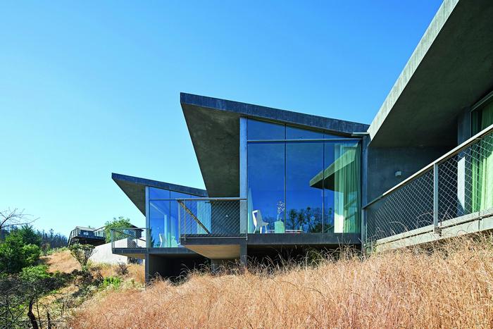 Гостевой  дом  в  Северной  Калифорнии :  вопреки  стихии