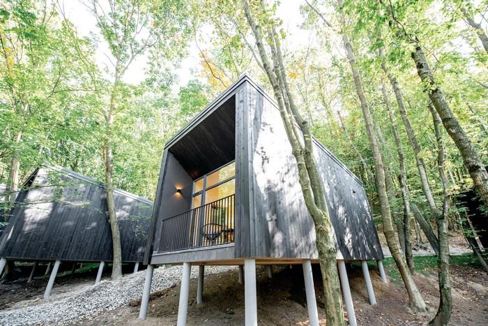 Дом в стиле хьюгге: когда деревья росли на балконах