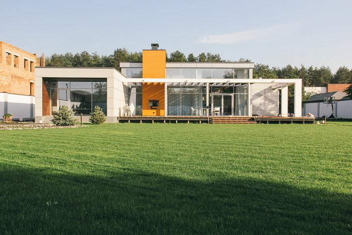 Загородный дом от «Yurima Architects»: одноэтажная Украина