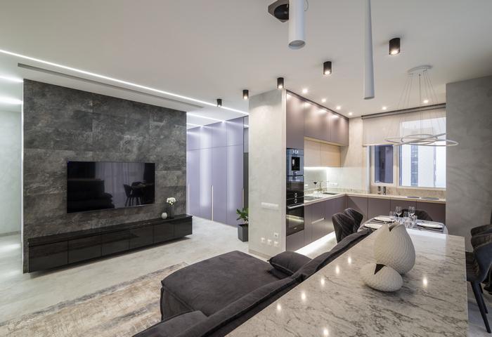 Апартаменты от Lugovskay design: маленькие секреты большой квартиры
