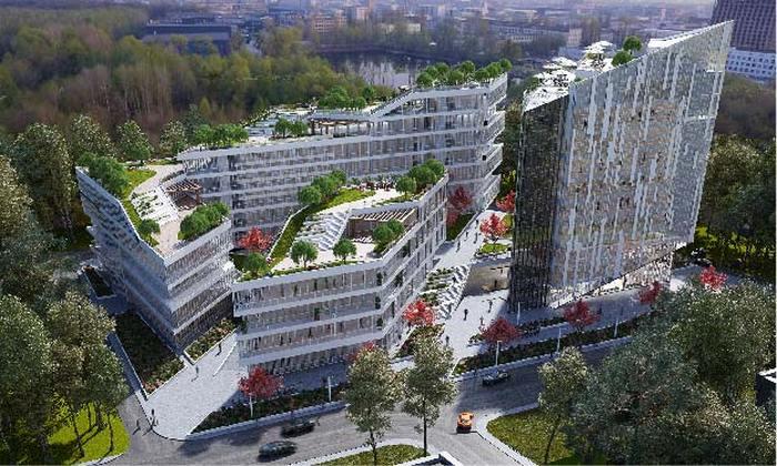 Многофункциональный комплекс в Киеве: для работы и отдыха