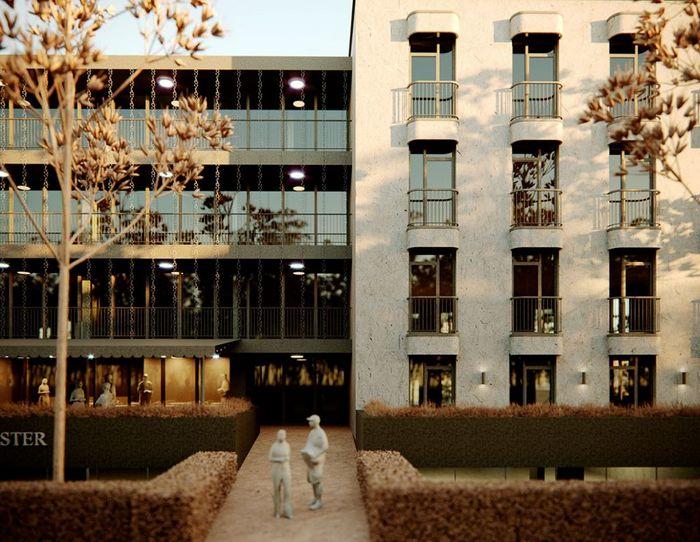 Жилой комплекс из двух домов во Львове: квартирография – наше все