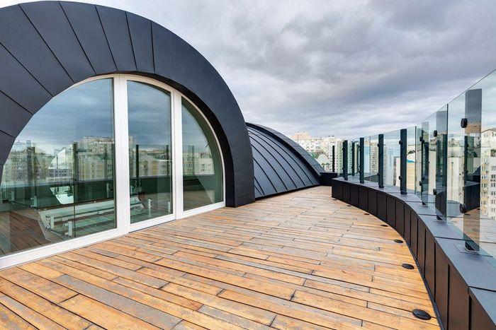 Лофт эгоиста: к построить дом на крыше дома