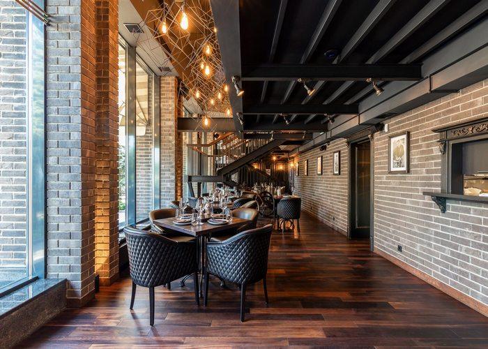 Ресторан на Днепре: как превратить интерьер в открытую террасу