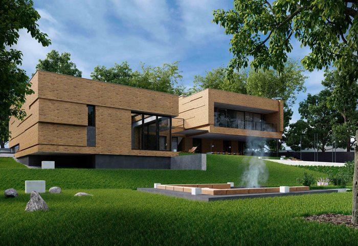 Двухэтажный дом от  MUST ADDON: современный и необычный