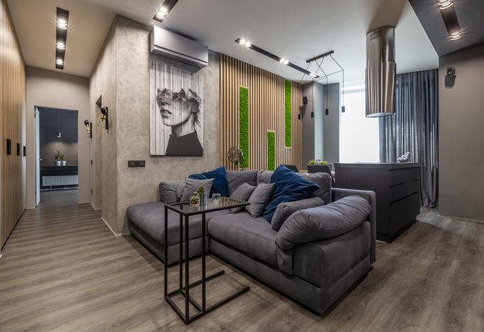 Квартира от KAKADU-STUDIO: простор, эргономичность, комфорт