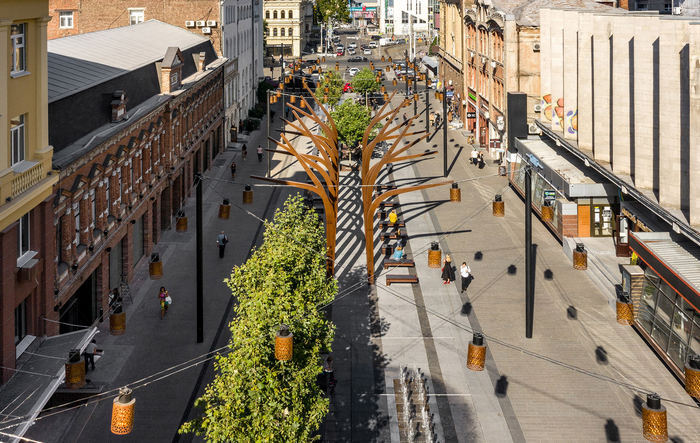 Реконструкция в центре Днепра: новая жизнь старой улицы