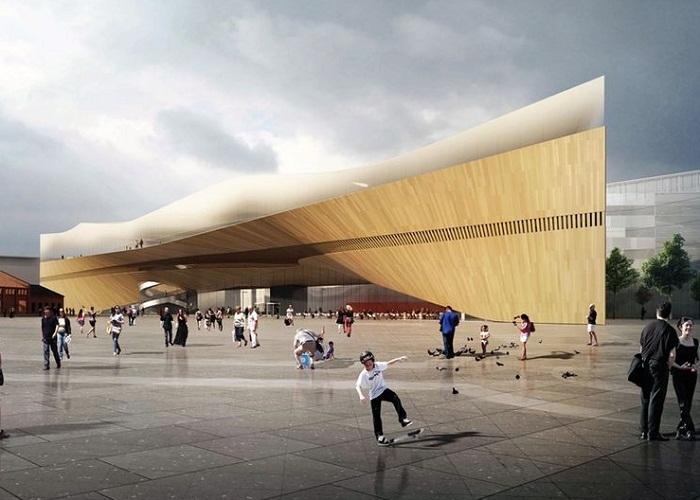 Библиотека «Oodi» в центре Хельсинки: где взять лыжи напрокат