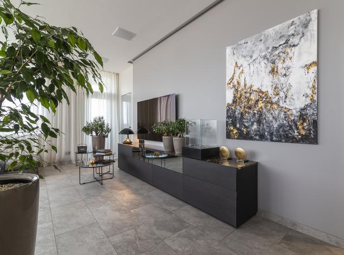 апартаменты, проект которых выполнил Константин Пащак (студия «Pashchak design»)