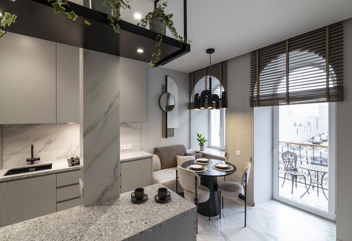 «Grisaille apartment» от «MY Interiors»: дизайну все возрасты покорны