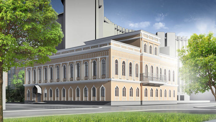 Дом Губернатора: проект реставрации от Melor Architectural Group