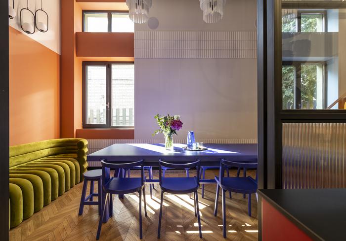 Кафе в центре Днепра от I'M DESIGN: гедонизм и эстетика